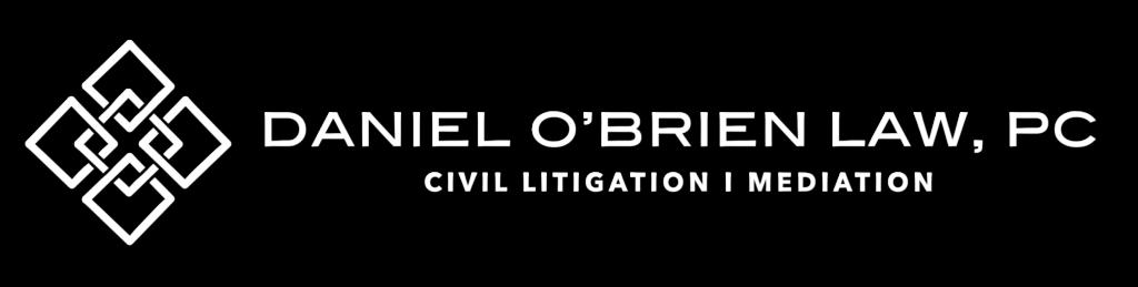 Dan O'Brien logo with clear background